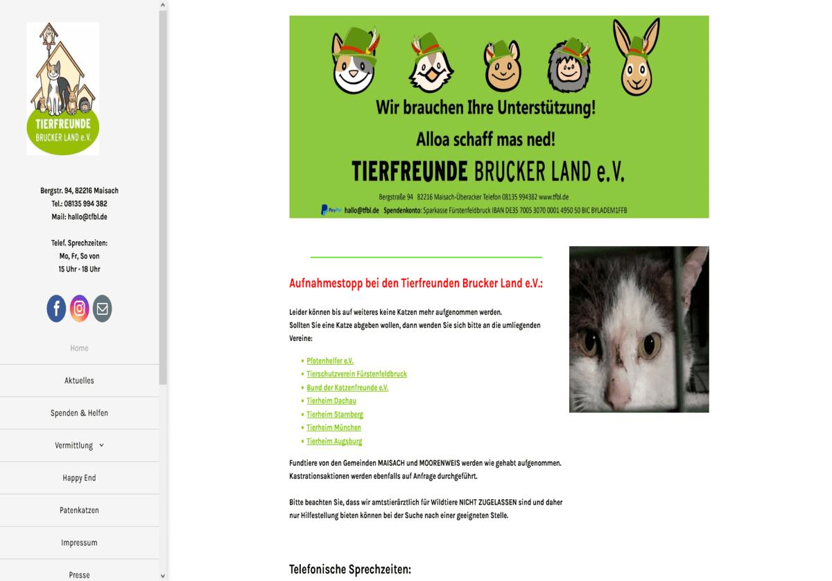 Tierfreunde Brucker Land e.V.